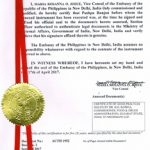 Agreement Attestation for Philippines in Vasai, Agreement Legalization for Philippines, Birth Certificate Attestation for Philippines in Vasai, Birth Certificate legalization for Philippines in Vasai, Board of Resolution Attestation for Philippines in Vasai, certificate Attestation agent for Philippines in Vasai, Certificate of Origin Attestation for Philippines in Vasai, Certificate of Origin Legalization for Philippines in Vasai, Commercial Document Attestation for Philippines in Vasai, Commercial Document Legalization for Philippines in Vasai, Degree certificate Attestation for Philippines in Vasai, Degree Certificate legalization for Philippines in Vasai, Birth certificate Attestation for Philippines , Diploma Certificate Attestation for Philippines in Vasai, Engineering Certificate Attestation for Philippines , Experience Certificate Attestation for Philippines in Vasai, Export documents Attestation for Philippines in Vasai, Export documents Legalization for Philippines in Vasai, Free Sale Certificate Attestation for Philippines in Vasai, GMP Certificate Attestation for Philippines in Vasai, HSC Certificate Attestation for Philippines in Vasai, Invoice Attestation for Philippines in Vasai, Invoice Legalization for Philippines in Vasai, marriage certificate Attestation for Philippines , Marriage Certificate Attestation for Philippines in Vasai, Vasai issued Marriage Certificate legalization for Philippines , Medical Certificate Attestation for Philippines , NOC Affidavit Attestation for Philippines in Vasai, Packing List Attestation for Philippines in Vasai, Packing List Legalization for Philippines in Vasai, PCC Attestation for Philippines in Vasai, POA Attestation for Philippines in Vasai, Police Clearance Certificate Attestation for Philippines in Vasai, Power of Attorney Attestation for Philippines in Vasai, Registration Certificate Attestation for Philippines in Vasai, SSC certificate Attestation for Philippines in Vasai, Transfer Certificate Attestation fo